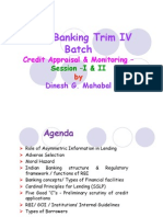 Banking Session 1