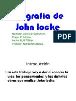Vida y Obra de Jhon Locke