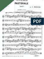 Pastorale (Mancini, A) Oboe-Violin