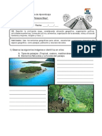 Guía de Aprendizaje Coordenadas y Paisajes Mayas. (1)