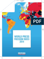 Press Freedom Index 2014