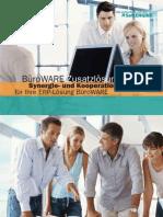 BüroWARE Zusatzlösungen -  Synergie- und Kooperationslösungen für Ihre ERP-Lösung BüroWARE