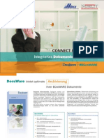 CONNECT to BüroWARE Integriertes Dokumentenmanagement - DocuWARE + BüroWARE