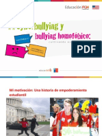 Ciberbullying y Bullying Homofobico