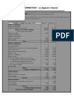 Diagnostic Financier Cas Et Correction