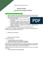 Resumen Métodos de Estudio e Investigación UNED
