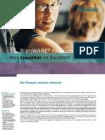 BüroWARE® Finanzbuchhaltung -  Mehr Liquidität mit BüroWARE