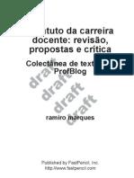 ebook ecd Estatuto da carreira docente
