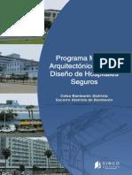 Programa Mxdico Arquitectonico Para Disexo de Hospitales Seguros