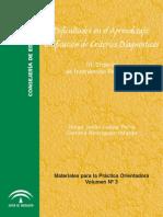 Dificultades de Aprendizaje. Unificación de Criterios Diagnósticos III