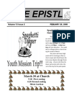 EPISTLE 2008-02