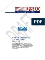 FMLob Enterprise Architecture 2007 Version Draft 3-15-2008 v3a