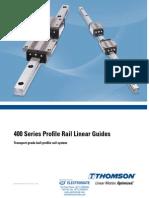 Thomson 400 Series Profile Rail Catalog