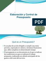Elaboración y Control de Presupuestos (Presentacion)