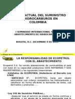 Estado Actual Del Suministro de Hidrocarburos en Colombia- Federico Maya-ecopetrol