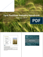 2014 Yara Fertilizer Industry Handbook