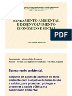 01 Saneamento e Desenvolvimento Econômico e Social