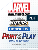 Marvel Objects