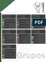 Calendario Copa MX A14