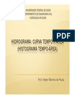 A_Hidrograma_Curva Tempo x Área