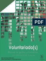 Voluntariado Manual Gestion Formacion