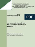 Intervenciones de Enfermería en La Atención Pediátrica de La Hemofilia ER