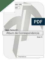 Album de Correspondencias
