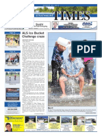 August 22, 2014 Strathmore Times