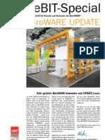 SoftENGINE Update - CeBIT Special - 01.2009 - Die Zeitschrift für Freunde und Anwender der BüroWARE und der WEBWARE