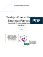 Ventajas Competitivas de Las EF