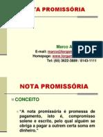II - Aula 8 - Promissória