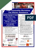 Free Citizenship Workshop