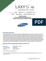 T959V Galaxy S 4G Spanish User Guide
