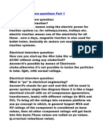 121264285 Electrical Interview