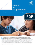Intel Education Creative Assets 2014 Espanol Sumario