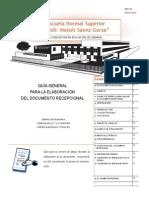Doi-153 Guia Para La Elaboracion Del Documento Recepcional