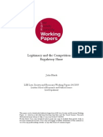 Legitimacy and the Competition For