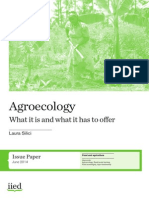 Agroecology What It is and What It Has to Offer