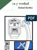 Barthes, Roland (1971), Critica y Verdad, Siglo XXI Editores, México.