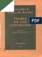Teoria de Los Contratos - Tomo 5 - Fernando Lopez de Zavalia