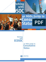 Working With ECOSOC, Guide for NGOs