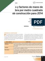 Costos de Construccion Para El 2014