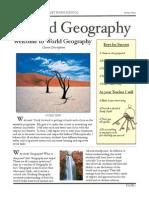 Geog Course Descrpition