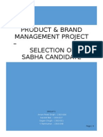 Product&Brand Project Report Group5