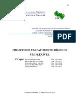 Projeto PAVIMENTAÇÃO - leite