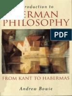 German Philosophy
