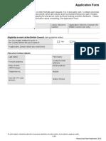 Application Form -Part 1 0