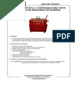 Boletim Técnico Bancada Portatil Para Teste Hidrostático Para Mangueira de Incendio Ref. Mr.890