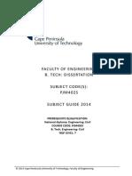 Studyguide Pjm402S 2014 Final