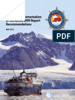 Arctic Marine Shipping Assessment, Arctic Council, 2013